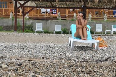 """фото пляж, Курортный комплекс """"Камарит"""", Абхазия"""