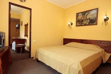 """фото Люкс 2-местный 3-комнатный, Отель """"Бастион"""", Судак"""