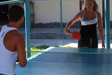 """фото теннис, База отдыха """"Коронелли"""", Феодосия"""