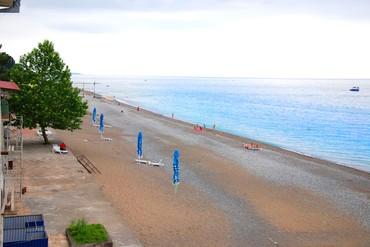 """фото море, Пансионат """"Мидель - Гагра"""", Абхазия"""