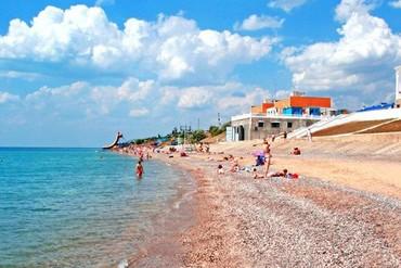 """фото пляж, Отель """"Сказка"""", Николаевка"""