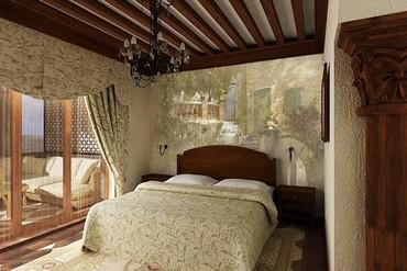 """фото Комфорт с терассой, Отель """"Soldaya Grand Hotel & Resort"""", Судак"""