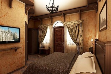 """фото Стандарт 2-местный, Отель """"Soldaya Grand Hotel & Resort"""", Судак"""