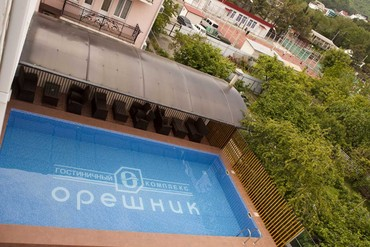 """фото бассейн, Гостиничный комплекс """"Орешник"""", Сочи"""