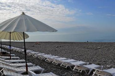 """фото пляж, Отель """"Азимут"""", Сочи"""