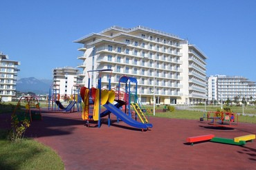"""фото детская площадка, Сочи парк отель (бывш. """"Азимут""""), Сочи"""