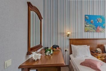 """фото Номер «Стандарт» 1-комнатный 2-местный, Пансионат """"Аквамарин"""" (Сукко), Анапа"""