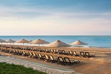 """фото пляж, Отель """"Ela Quality Resort 5*"""", Белек"""