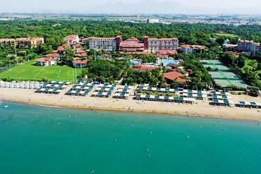 """фото Пляж, Отель """"Belconti Resort Hotel"""" 5*, Белек"""