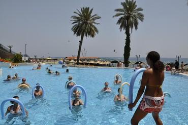 """фото Основной бассейн, Отель """"Amara Club Marine Nature 5*"""", Кемер"""