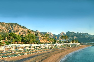 """фото Пляж, Отель """"Amara Club Marine Nature 5*"""", Кемер"""