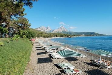 "фото пляж, Отель ""Club Phaselis 5*"", Кемер"