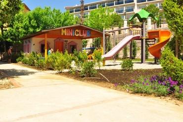 """фото Детская площадка, Отель """"Club Bella Sun 4*"""", Сиде"""