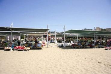 "фото Пляж, Отель ""Side Alegria Hotel & Spa"" 4*, Сиде"