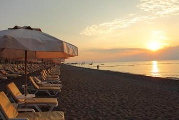 """фото Пляж, Отель """"Amara Prestige 5*"""", Кемер"""