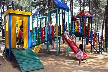 """фото детская площадка, Отель """"Orchestra Horizont Gelendzhik Resort"""", Геленджик"""