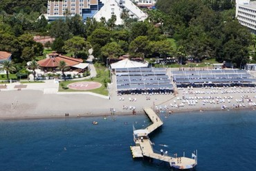 """фото Пляж, Отель """"Matiate Hotel"""" 4*, Кемер"""