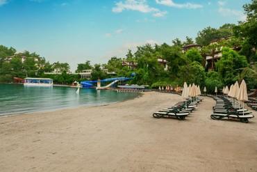 """фото Пляж, Отель """"Club & Hotel Letoonia"""" HV-1/5*, Фетхие"""