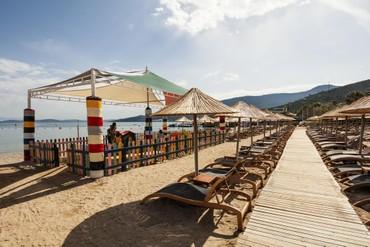 """фото пляж, Отель """"Voyage Torba 5 *"""", Турция"""