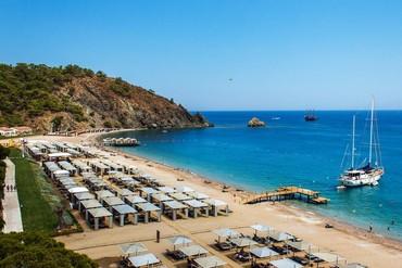 "фото Пляж, Отель ""Rixos Premium Tekirova""  5*, Кемер"