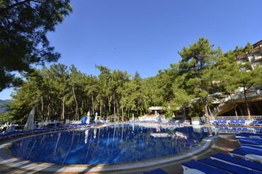 "фото бассейн, Отель ""Grand Yazici Marmaris Palace"" HV-1, Мармарис"