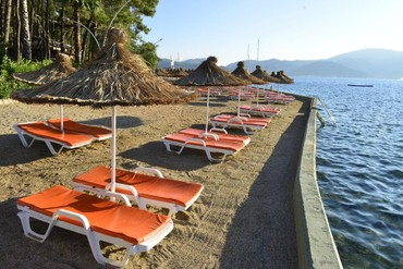 "фото пляж, Отель ""Grand Yazici Marmaris Palace"" HV-1, Мармарис"