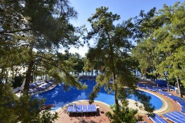 "фото бассейн, Отель ""Grand Yazici Marmaris Palace"" HV-1, Мармарис"