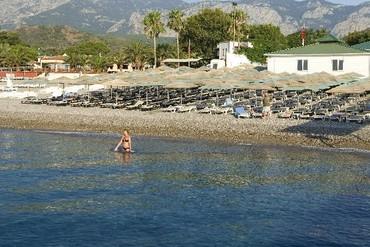 """фото Пляж, Отель """"Simena Hotel & Village HV-1/5*"""", Кемер"""