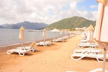 """фото Пляж, Отель """"D-Resort Grand Azur Marmaris"""" 5*, Мармарис"""