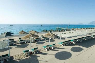 "фото Пляж, Отель ""Pirate`s Beach Club HV-1"" 5*, Кемер"