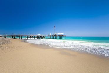 "фото Пляж, Отель ""Club Hotel Turan Prince World 5*"", Сиде"