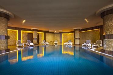 "фото Бассейн, Отель ""Club Hotel Turan Prince World 5*"", Сиде"