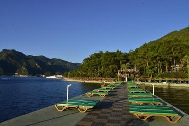 """фото пляж, Отель """"Grand Yazici Marmaris Palace"""" HV-1, Мармарис"""