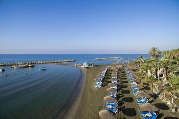 """фото Пляж, Отель """"Golden Bay"""" 5*, Кипр"""