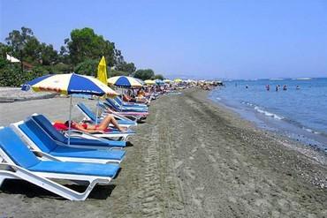 """фото Пляж, Отель """"Navarria"""" 3*, Кипр"""