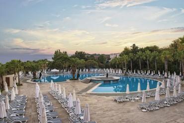 "фото бассейн, Отель  ""Delphin Botanik Hotel 5*"", Аланья"