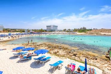 """фото Пляж, Отель """"Tasia Maris Sands"""" 3*, Айя-Напа"""