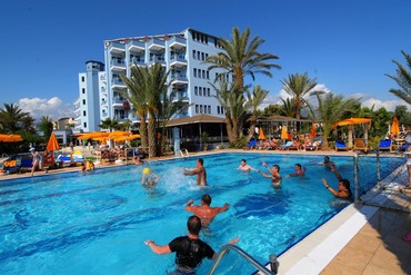 "фото бассейн, Отель  ""Club Hotel Caretta Beach"" 4*, Аланья"
