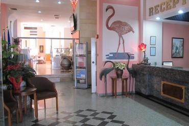 """фото Отель, Отель """"Flamingo Beach"""" 3*, Ларнака"""