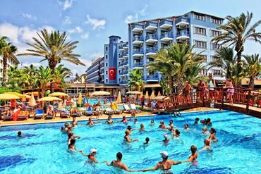"фото развлечения, Отель  ""Club Hotel Caretta Beach"" 4*, Аланья"