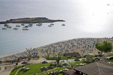 """фото Пляж, Отель """"Capo Bay"""" 4*, Протарас"""
