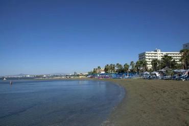 """фото Пляж, Отель """"Lordos Beach"""" 4*, Кипр"""