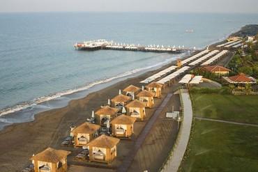 """фото Пляж, Отель """"Bellis Deluxe Hotel 5*"""", Белек"""