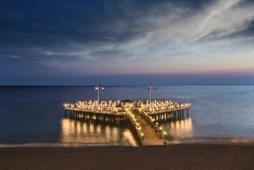 """фото пляж, Отель  """"Delphin Botanik Hotel 5*"""", Аланья"""