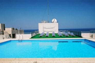 """фото Бассейн, Отель """"Flamingo Beach"""" 3*, Ларнака"""