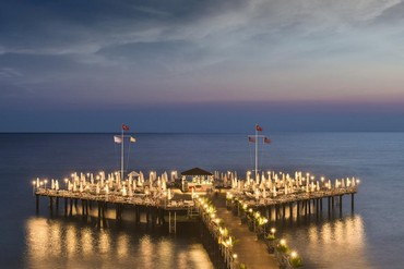 """фото море, Отель  """"Delphin Botanik Hotel 5*"""", Аланья"""