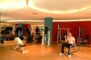 """фото тренажерный зал, Отель """"Palm Beach"""" 4*, Кипр"""