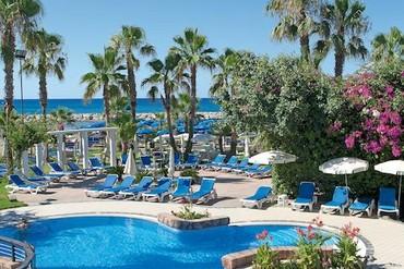 """фото Бассейн, Отель """"Lordos Beach"""" 4*, Кипр"""