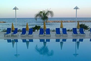 """фото море, Отель """"Palm Beach"""" 4*, Кипр"""