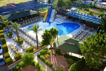 """фото отдых, Отель """"Beach club doganay 5*"""", Аланья"""
